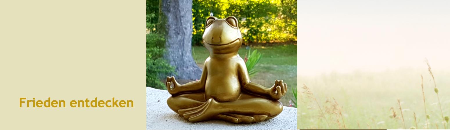 Be happy - meditieren